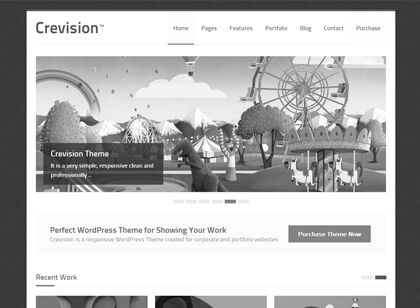 Crevision WordPress Theme